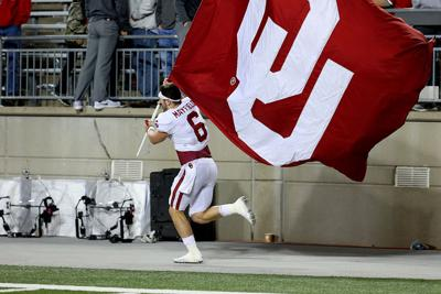 7ba01dd895e Opinion  Baker Mayfield  planting the flag  is what makes college ...