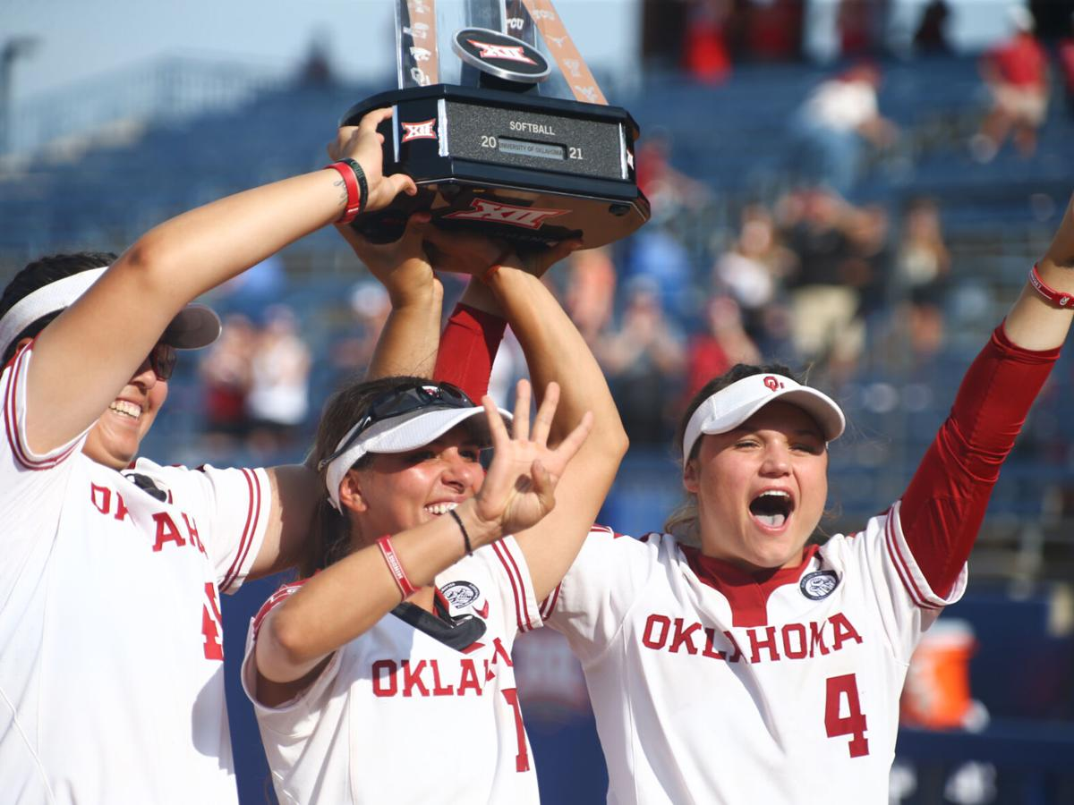 'We've been waiting for this moment': Sooners run-rule Oklahoma State for fourth consecutive Big 12 Championship