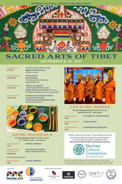 tibetan cultural flyer