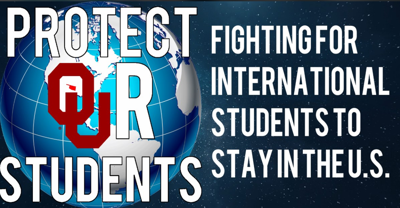 International Student Protest March logo