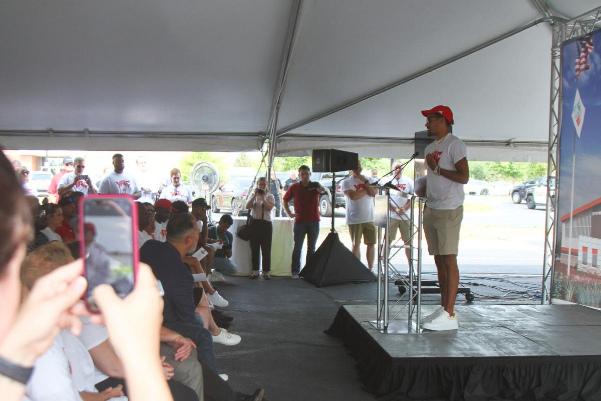 Young Family Athletic Center Groundbreaking Ceremony