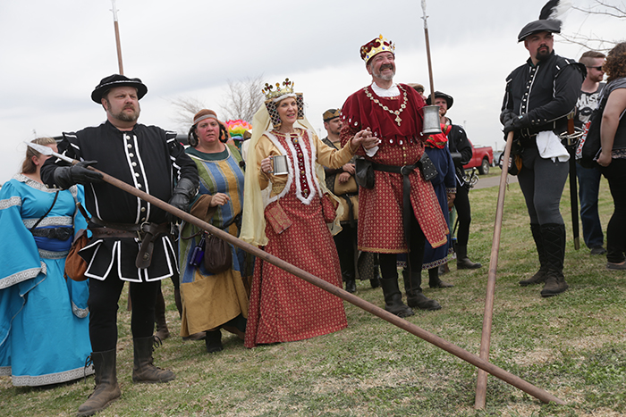 Medieval Fair: King and Queen