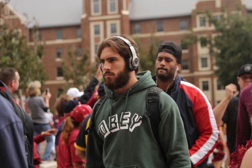OU football: The Sooners' Walk of Champions before Army ...