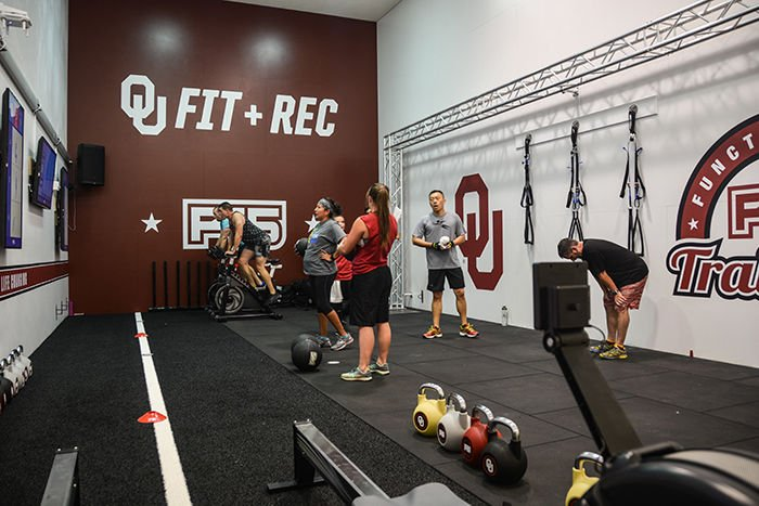 OU Fitness + Recreation offers new F45 Training program for weight