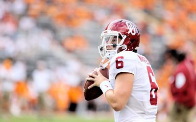 86674b6ac40 Oklahoma football: Twitter reacts to Baker Mayfield's late arrival ...