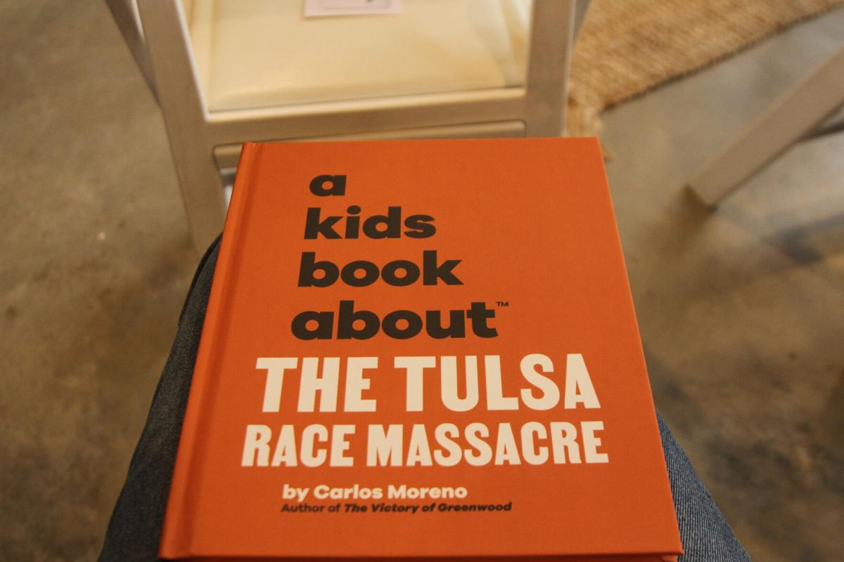 A Kids Book About The Tulsa Race Massacre