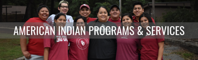 American Indian programs & services