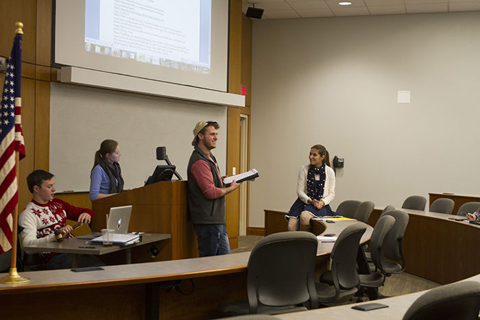 Undergraduate student congress members weigh in on sae for Student congress resolution template