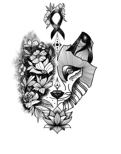Mariah Seedorf wolf drawing