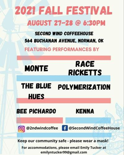 second wind music festival flyer