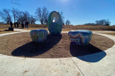 triptych sculpture