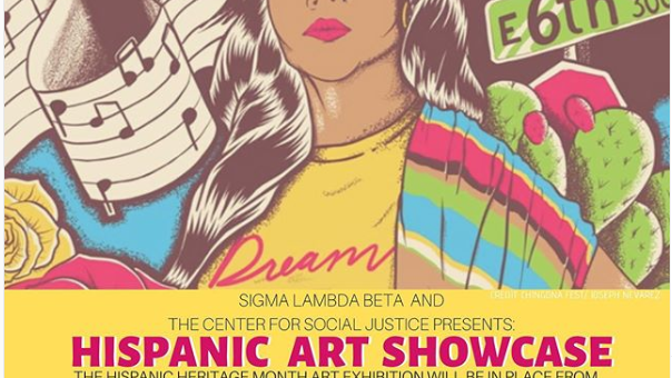 2nd annual Hispanic Heritage Month Art Showcase to feature original pieces by students, local artists