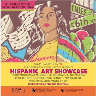 hispanic art showcase