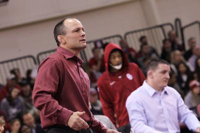 OU head wrestling coach Lou Rosselli