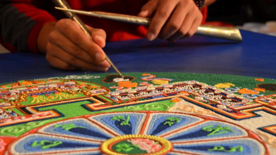 Norman Cultural Connection to host Sacred Arts of Tibet workshops, sand mandala creation via Zoom