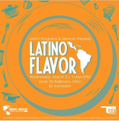Latino Flavor Flyer
