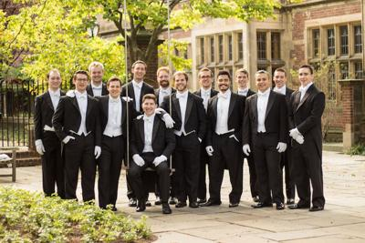 Famed Yale acapella group the Whiffenpoofs to sing national