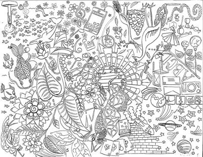 Adult coloring books help OU students de-stress, have fun | Arts &  Entertainment | oudaily.com
