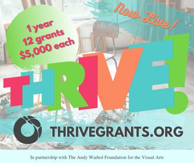 Thrive grants flyer