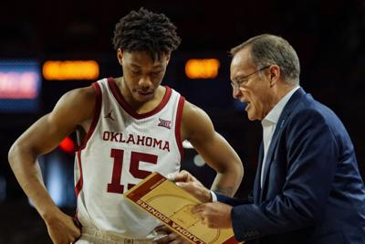 Alondes Williams and Lon Kruger