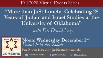 Judaic Studies Flyer