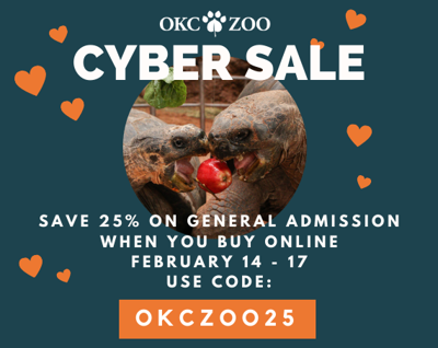 okc zoo cyber sale
