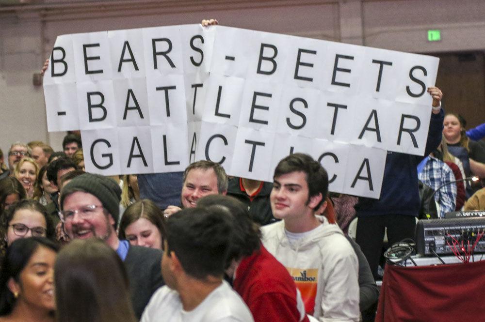 Bears, Beets, Battlestar Galactica sign