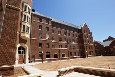 Inside Dunham - Center Courtyard
