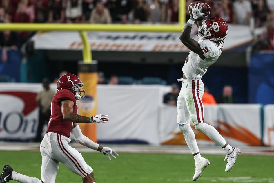 OU football: CeeDee Lamb dominates, could be Sooners' top ...