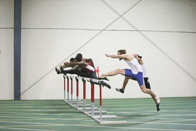 Men's 60 meter hurdles