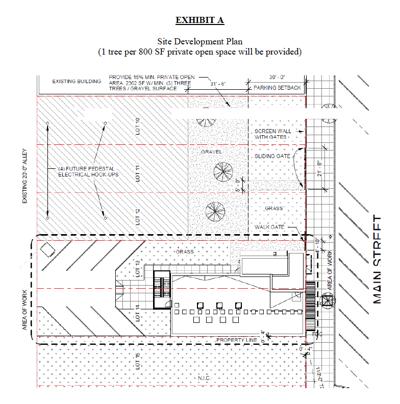 Office park plans