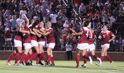 University of Oklahoma Women's Soccer Team