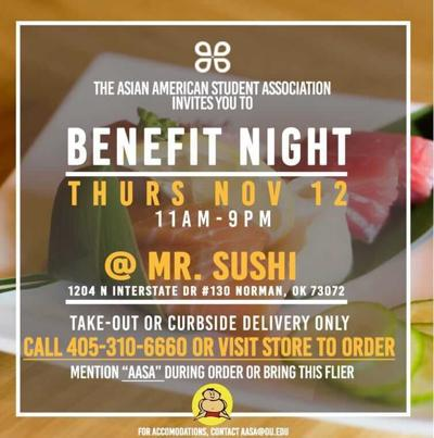 benefit night flyer