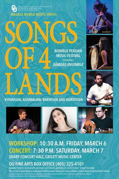 Songs of Four Lands