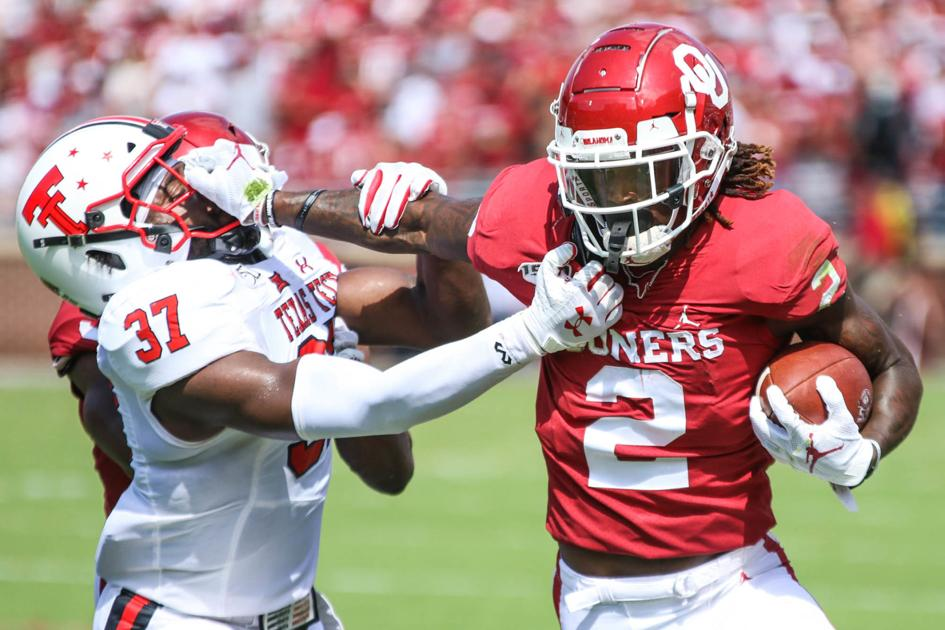 OU football: CeeDee Lamb has career day, shows why he's ...