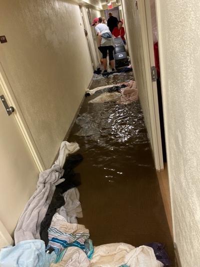 Flooded dorm