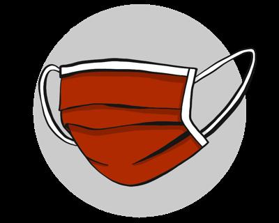 Mask graphic no logo