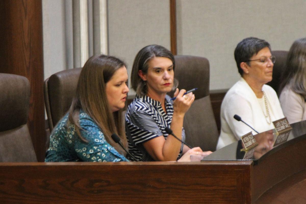 Lauren Schueler, Alison Petrone and Lee Hall