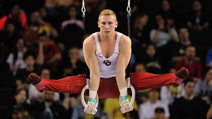 Men's gymnastics downs No. 6 California | Sports | oudaily.com