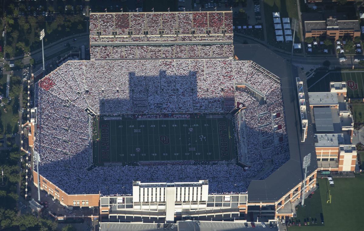 OU football: Views of Gaylord Family-Oklahoma Memorial ...