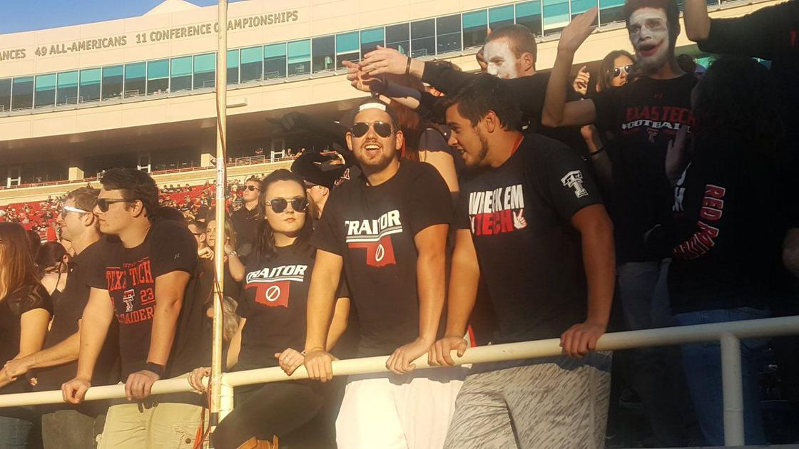 "Oklahoma football: Texas Tech fans wear ""traitor"" shirts ..."