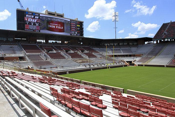 oklahoma football  stadium renovations  u0026 39 had to be ready u0026 39  for sooners u0026 39  home opener