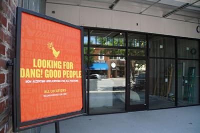 Nashbird Chicken sign