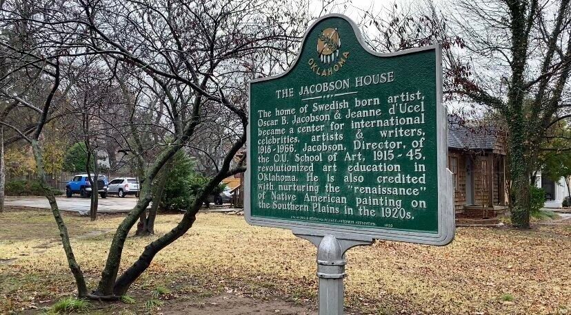 Jacobson House Sign