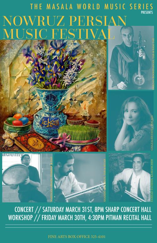 OU School of Music to hold Nowruz Persian Music Festival
