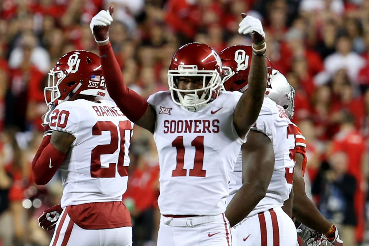 Oklahoma football: Watch Parnell Motley's pick six for the ...