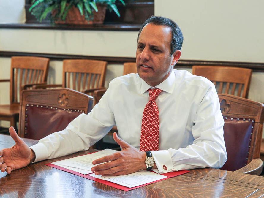 'I see what's ahead for us': Interim OU president Joseph Harroz updates university on diversity, financial progress