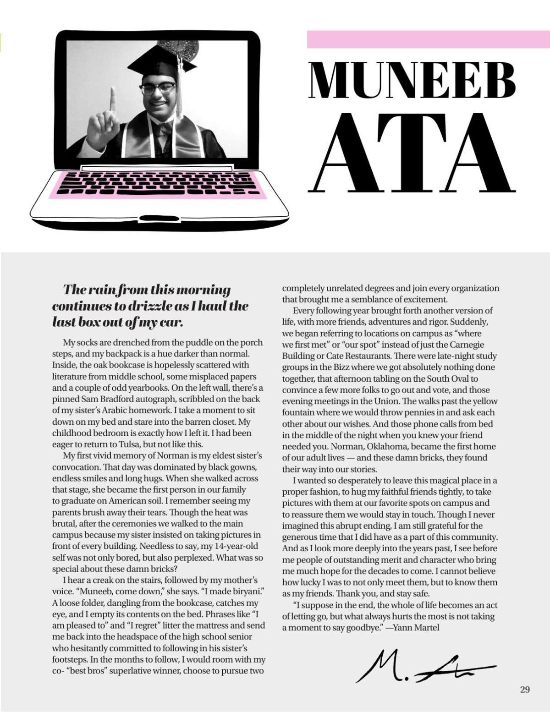 Muneeb Ata Senior Letter