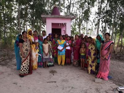 the place of women in india