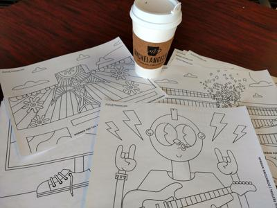 Norman Arts Coloring Pages